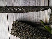 Кружево натуральное Ширина 13мм (1,3см). Цена указана за 1 ярд