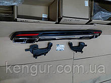 Диффузор заднего бампера Mercedes W222