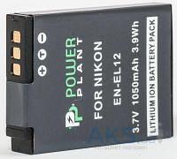 Аккумулятор для фотоаппарата Nikon EN-EL12 (1050 mAh) DV00DV1242 PowerPlant
