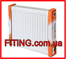 Радиатор стальной тип 22 1300мм. Х 500мм. Teplover (боковое подключение), фото 3
