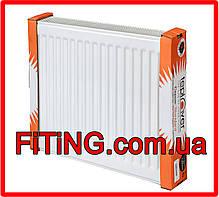Радиатор стальной тип 22 500мм. Х 500мм. Teplover (боковое подключение), фото 3