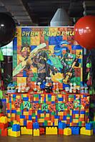 """Банер фотозона """"Лего Ниндзяго"""""""