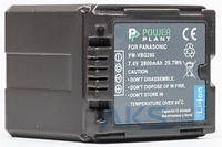 Аккумулятор для видеокамеры Panasonic VW-VBG260 сhip (2800 mAh) DV00DV1276 PowerPlant