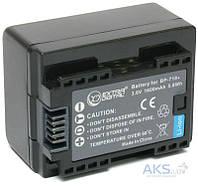 Аккумулятор для видеокамеры Canon BP-718 сhip (1600 mAh) BDC1301 ExtraDigital