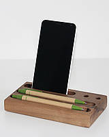 Деревянная органайзер на стол , фото 1