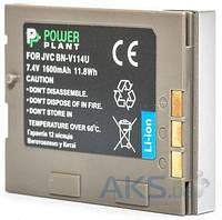 Аккумулятор для видеокамеры JVC BN-V114U (1600 mAh) DV00DV1356 PowerPlant