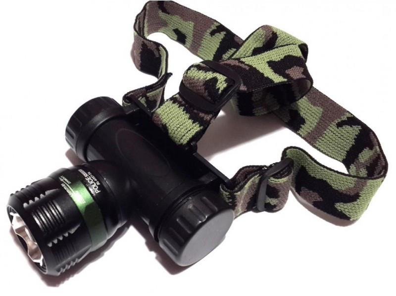 Налобный  фонарик Police BL-6957