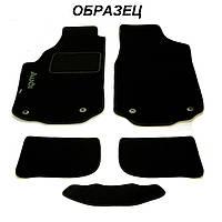 Ворсовые коврики в салон Audi A4 (B7) МКП SD 2004-2008 (STINGRAY) FORTUNA BLACK