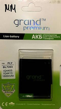 Акумулятор Grand Premium для Fly BL7203 IQ4405/IQ4413 1800mAh, фото 2