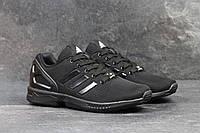 Кроссовки мужские Adidas Flux (черные),  ТОП-реплика , фото 1