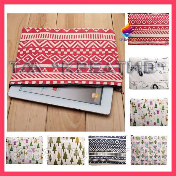 Текстильный чехол для планшетов (под заказ от 50 шт.)