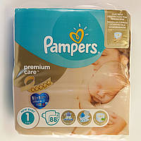Подгузник Pampers premium care Newborn 1, 2-5 кг 88шт
