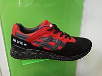 Мужские кроссовки Asics Gel Lyte 3 красные с черным eb174ad808a3c