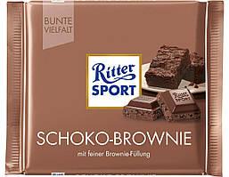 Шоколад Ritter Sport брауни 100 г