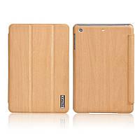 Чехол Remax для iPad Mini/Mini 2 с текстурой дерева Бежевый