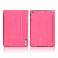 Чехол Remax для iPad Mini/Mini 2 с текстурой дерева Розовый