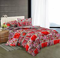 Комплект постельного белья семейный сатин, 100% хлопок. (арт.9471)