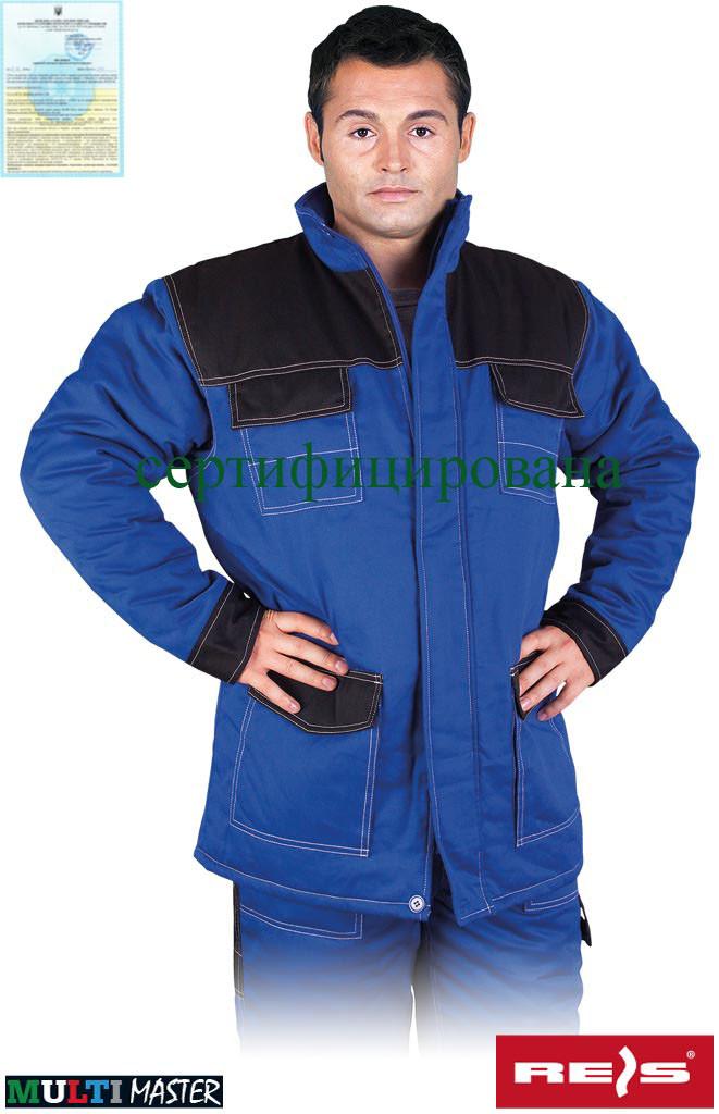 Куртка утепленная рабочая синяя REIS Польша (рабочая зимняя одежда) MMWJL NB