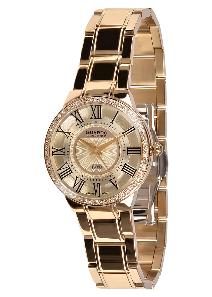 Жіночі наручні годинники Guardo S01248(m) RgRg