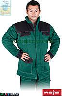 Куртка утепленная рабочая зеленая REIS Польша (спецодежда зимняя рабочая) MMWJL ZB