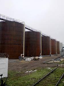 Виготовлення і монтаж резервуарів під аміачну воду