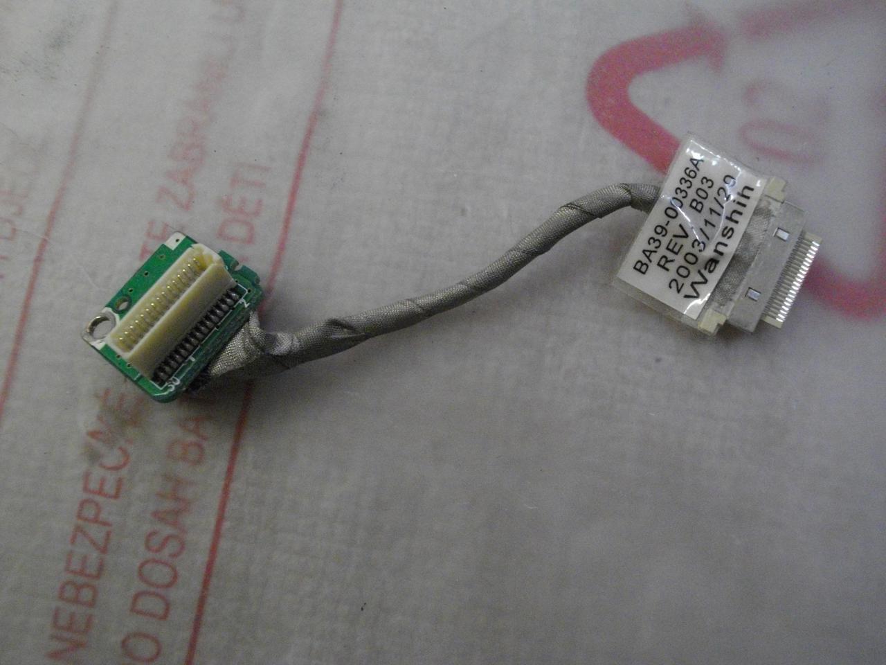 Шлейф BA39-00336A подключение шлейфа матрицы  Samsung X05