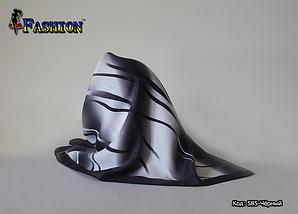 Платок чёрный шерстяной Ирма, фото 2