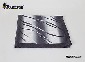 Платок чёрный шерстяной Ирма, фото 3
