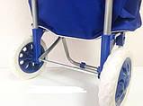 Сумка візок на коліщатках - дорожня сумка на колесах, фото 3