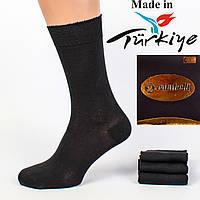 6800635b37393 Антибактериальные мужские носки Carabelli AV1001. В упаковке 12 пар. Турция.