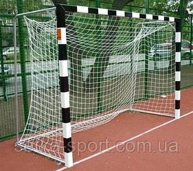 """Сітка для міні-футболу, гандбольна """"ОЛІМП-0,6 М"""" Осередок 10 см (Діаметр шнура - 5,5 мм)"""
