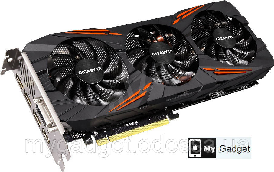 Видеокарта GIGABYTE Nvidia Geforce GTX 1080 Gaming 8GB GDDR5X (256bit) (1695/10010)