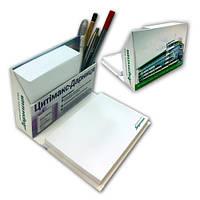 Блоки для заметок в диспенсере из переплетного картона