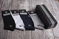 Носки короткие Adidas мужские в подарочной коробке