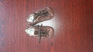 Кожаные ботиночки для малышей 18 размер
