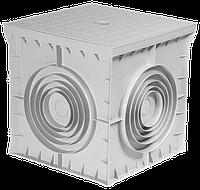 Колодязь кабельний пластиковий e.manhole.200.200.200.cover, 200х200х200мм з кришкою