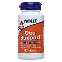 Витамины для глаз, Ocu Support, Now Foods, 60 капсул, фото 1