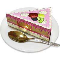 Бумага для заметок (блок) в виде торта NoteCake «Фрукты в глазури»