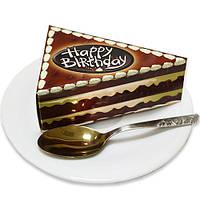 Бумага для заметок (блок) в виде торта NoteCake «Happy Birthday в шоколаде»