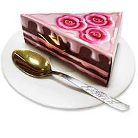 Бумага для заметок (блок) в виде торта NoteCake «Розочки»