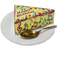 Бумага для заметок (блок) в виде торта NoteCake «Happy Birthday в глазури»