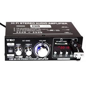 Усилитель звука UKC AK-699D MP3 FM 220v 12v