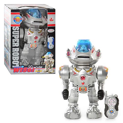 Робот 28085 з пультом на радіоуправлінні, звук, світло, в коробці