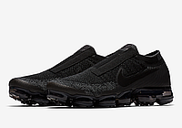 Мужские кроссовки Nike Air Vapormax Flyknit SE Laceless 'Black Night'