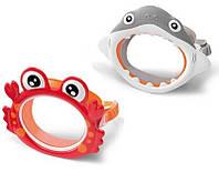 Детская маска для плавания Intex 55915. От 3х до 8 лет