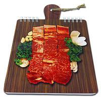 Блокнот для рецептов на жесткой основе CookNotes «Стейк»