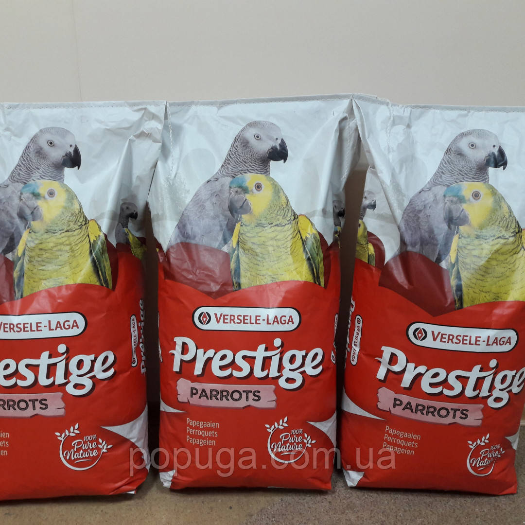 Корм для крупных попугаев Versele Laga PRESTIGE PARROTS Престиж мешок, 15 кг