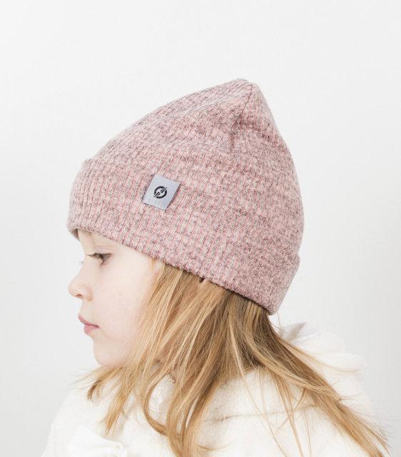 Универсальная трикотажная двойная шапочка детская