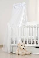 Балдахин для детской кроватки Twins белый