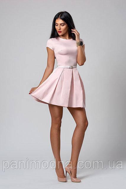 Молодежное стильное платье Мода 2018 код 390